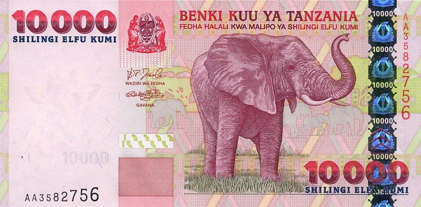 Moneda local en Tanzania: el chelín tanzano (TZS)