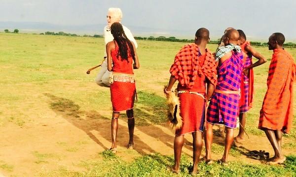 Viajeros en Kenya: Antonio y familia