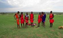 Visita a una aldea o manyatta masai