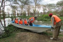 Actividades en Naivasha