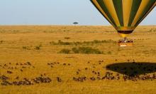 Safari en globo en Masai Mara