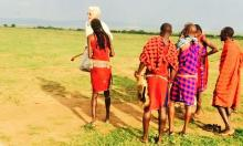 Travelers in Kenya: Antonio and family
