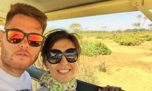 Travelers in Kenya: Elena and Borja