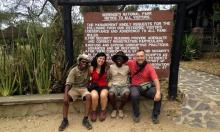 Travelers in Tanzania: Maria Jose y Francisco Javier